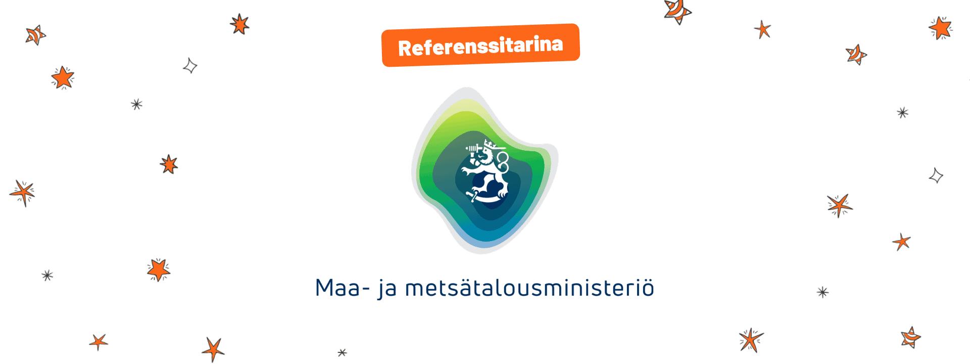 Sportspot referenssitarina - Maa- ja metsätalousministeriö